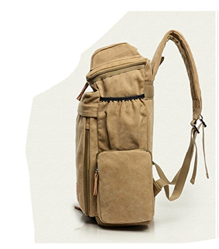 Laidaye Large Bag Shoulder Travel Backpack Canvas 1 Sports Capacity Casual rpFRwr4qxX