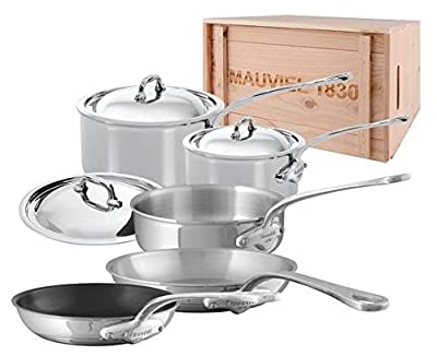 Mauviel M'Cook - 8 Piece Set w/ crate - (5210.17, 5210.19, 5213.26, 5211.25, 5242.20)
