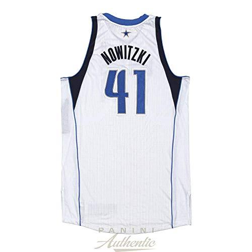 Dirk Nowitzki Game Worn Dallas Mavericks Jersey From 1/27/2013 vs the Phoenix Suns ~Limited Edition 1/1~ - Panini Authentic - Panini Certified