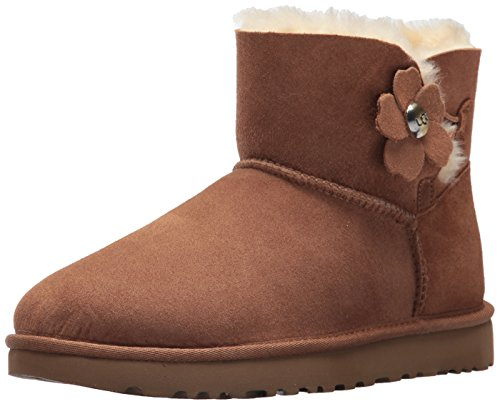 Da Stivali Australia Button Neve Poppy Chestnut Bailey Donna Mini Ugg gHqRcfPYq
