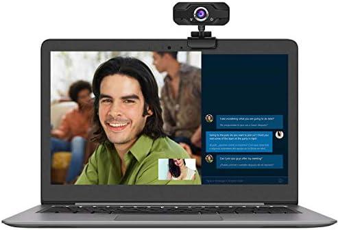 Webcam 1080P HD cámara para equipo de videografía USB, unidad de transmisión de vídeo en vivo, micrófono incorporado, ángulo ajustable, conexión USB de alta definición: Amazon.es: Electrónica