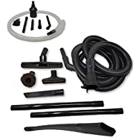 ZVac 12 Foot Staircase Hose Attachment Kit Compatible Kirby Generation 4 Upright Vacuums. Generic Replacement Kirby G4 Hose + Accessories Kit - Floor Brush, 24 Flexible Crevice, Micro Attachments