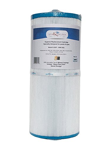 Spa & Sauna Parts Jacuzzi 6000-383 Replacement Filter, 60 Sq Ft, J-300 Series (2002)