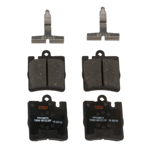 TRW TPC0873 Premium Ceramic Rear Disc Brake Pad - Brake Rear Amg C32