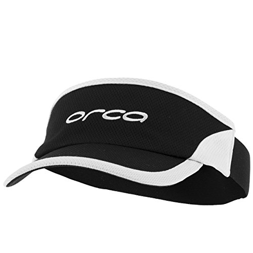 (ORCA Flexi-Fit Visor (Black/White))
