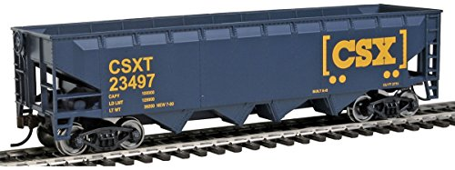 Walthers Trainline Offset Hopper Ready to Run CSX Toy from Walthers Trainline