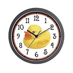 CafePress - Rubber Duck Wall Clock - Unique Decorative 10 Wall Clock