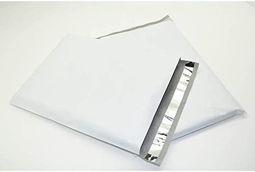 50 6x9 White Poly Mailers Envelopes Self Sealing Bags 1.7 Mil 6 X 9 for sale online