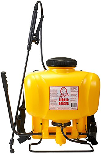Bare Ground BG-425 All-Season Backpack Sprayer with Multiple Spray Nozzle Adapters, 4 Gallons