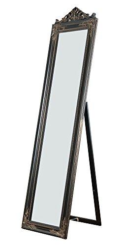 Milton Greens Stars Camilla Wooden Standing Mirror with Decorative Design, Copper, ()