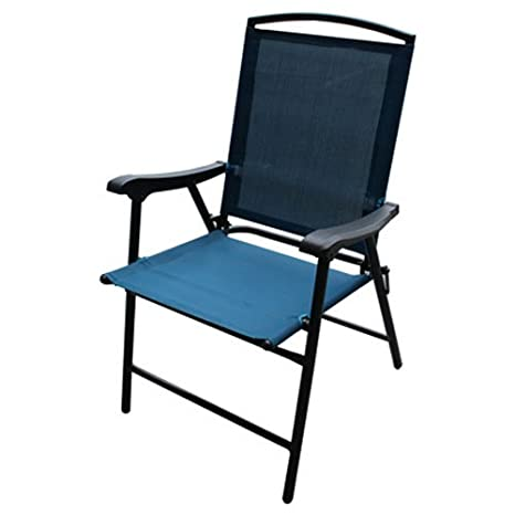 WESTFIELD OUTDOOR FS Blu Fld Sling Chair