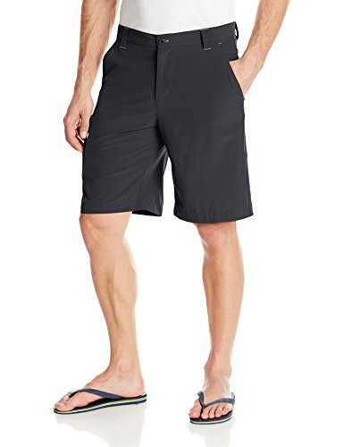 Columbia Sportswear Mens Terminal Tackle Shorts, Black/Gulf Stream, 34 x 10