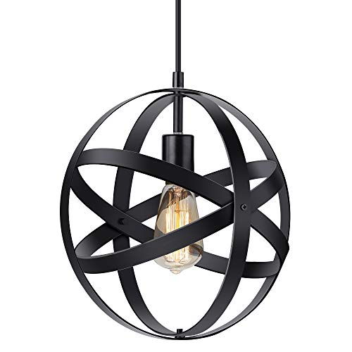 Iron Orb Pendant Light