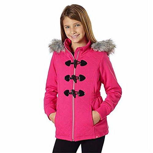 - Limited Too Girls Fleece Jacket with Detachable faux Fur Hood