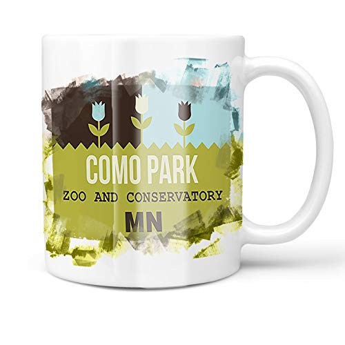 Neonblond 11oz Coffee Mug US Gardens Como Park Zoo and Conservatory - MN with your Custom Name