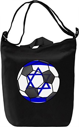 Israel Football Borsa Giornaliera Canvas Canvas Day Bag| 100% Premium Cotton Canvas| DTG Printing|