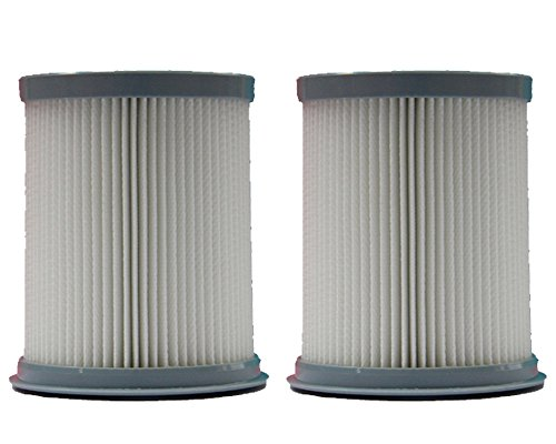 2) Hoover Pleated Elite Rewind Fusion HEPA Filter, Upright, Bagless Deluxe Vacuum Cleaners, U5507900, U5507950, U5509900, U5511900, UH40070, U5509900, U5509-900, U5507-950, U5507900, U5507-900, U5509-900