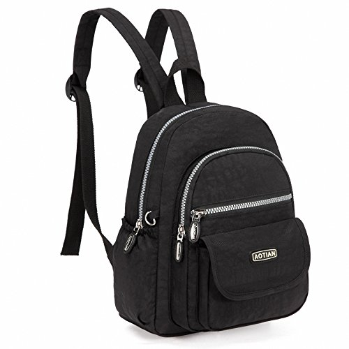 00b3940b3c AOTIAN Mini Nylon Women Backpacks Casual Lightweight Strong Small Packback  Daypack ...
