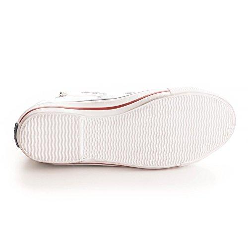 Cuero Mujer Blanco Victim de Zapatos Ash Blanco Zapatillas fcCpFIxq