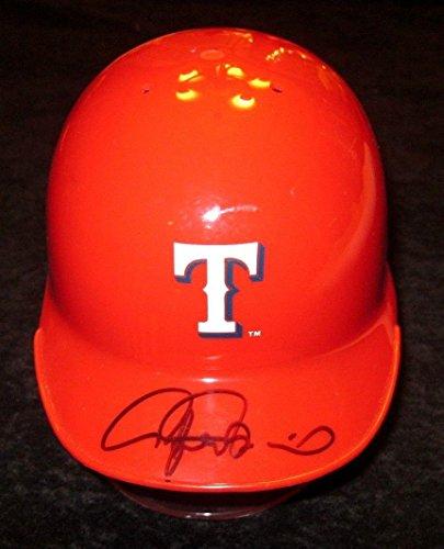 Rafael Palmeiro Signed Texas Rangers Mini Helmet Autograph Coa - JSA Certified - Autographed MLB Mini Helmets