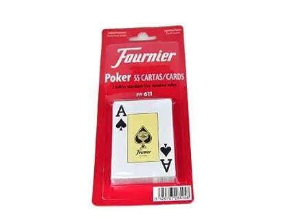 Fournier - Baraja Poker Ingles, 55 Cartas en blíster