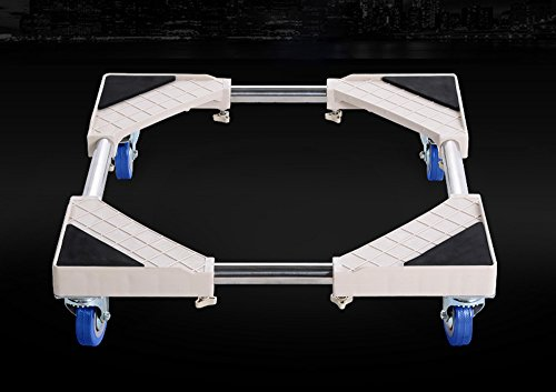 Stainless Steel Refrigerator Finishing Frame - Stainless steel drum washing machine base bracket adjustable refrigerator base moving pad high height bracket