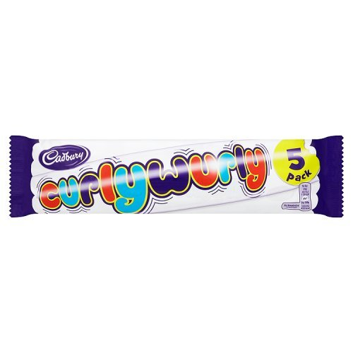 Cadbury Curly Wurly British 5-pack