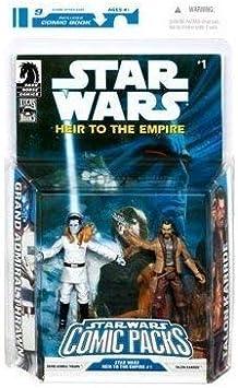 Star Wars Clone Wars Action Figure Comic 2-Pack Dark Horse: Heir ...