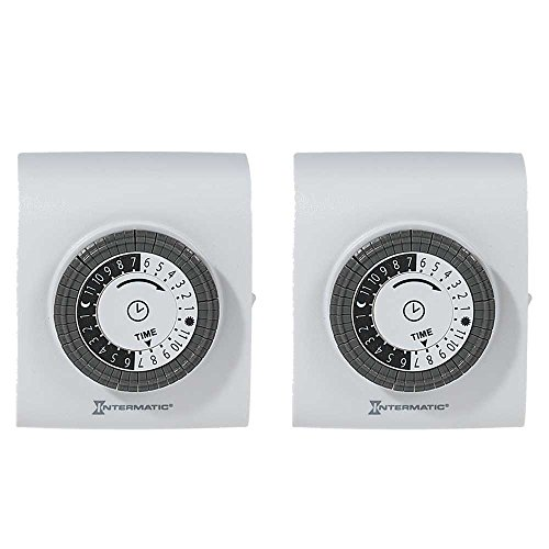 Intermatic TN811K 2PK Indoor Timers 2 Pack