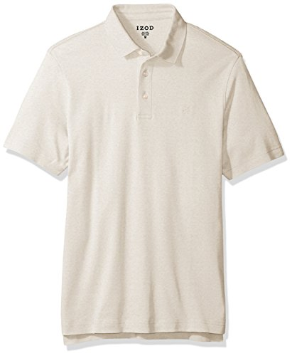 erlock Polo, Oatmeal Heather, X-Large (Cotton Mens Polo Shirt)