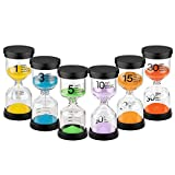 KSMA Colorful Sandglass Timer 5 Minute Hourglass