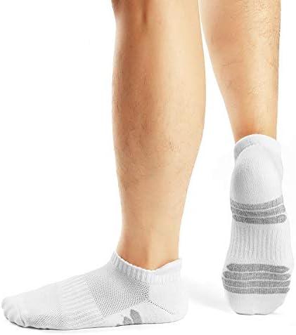FALARY Calcetines Hombre Mujer Deportivos 10 Pares Cortos Calcetin/Tobilleros Algodon