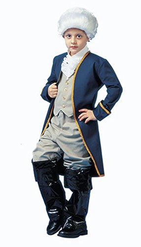 George Washington Costume Youth (Child George Washington Costume, Size Youth Large 12-14)