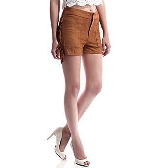 en ligne à la vente offres exclusives pour toute la famille La Modeuse - Short Femme en Simili Daim: Amazon.fr ...