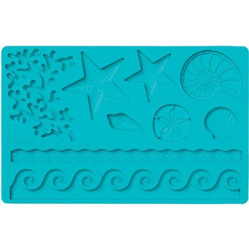 Wilton Fondant and Gum Paste Silicone Mold, Sea Life
