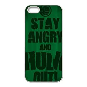 iPhone 4 4s Cell Phone Case White Stay Angry and Hulk Out TR2276422