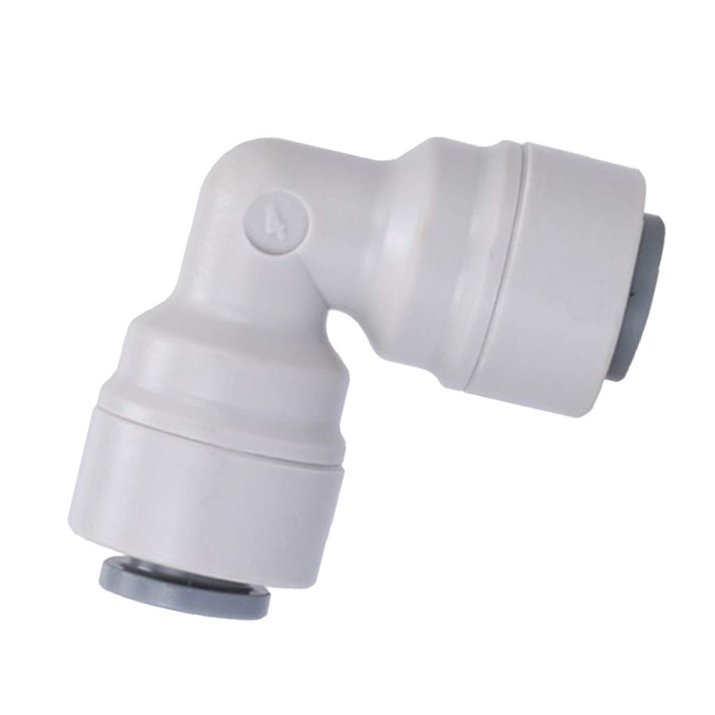 H HILABEE Tube Fitting For RO Reverse Osmosis System 1//4 OD Tube Elbow 90 Degree