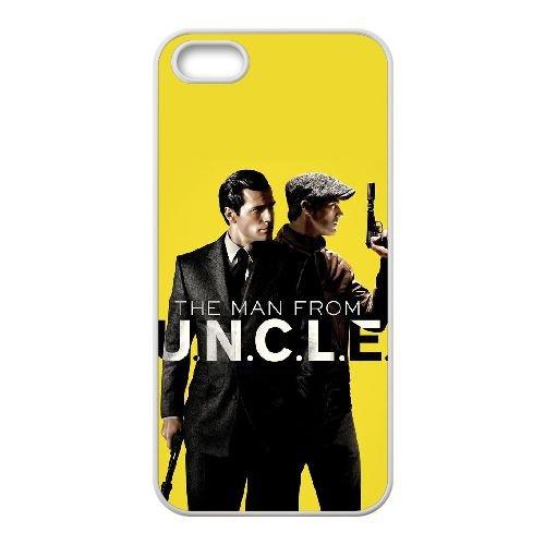 O7J91 The Man from UNCLE Haute Résolution Affiche F6J4MU coque iPhone 4 4s cellule de cas de téléphone couvercle coque blanche KR6VES5GT