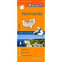 Normandy/Normandie Region MH513 Michelin