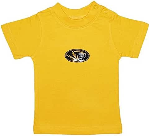 Missouri Tigers Gold NCAA College Toddler Baby T-Shirt Tee