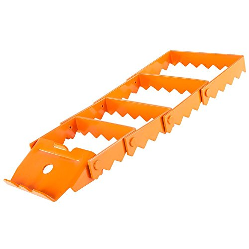 Discount Ramps Orange Heavy Duty Vehicle Recovery Traction Grip Track (One)