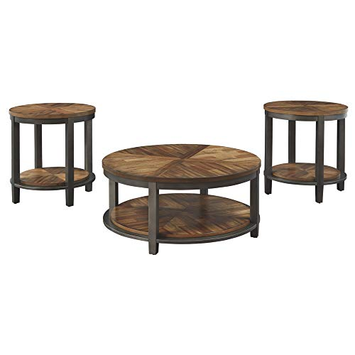 Signature Design by Ashley - Roybeck Occasional Table Set, Wood (Furniture Room Sets Tables Living)