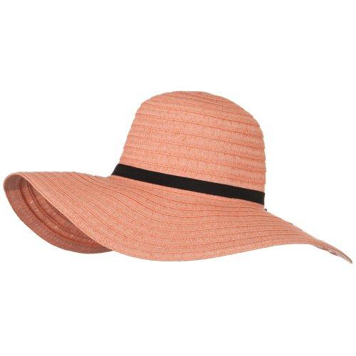 e4Hats.com Ladies Fashion Toyo Solid Hat - Peach