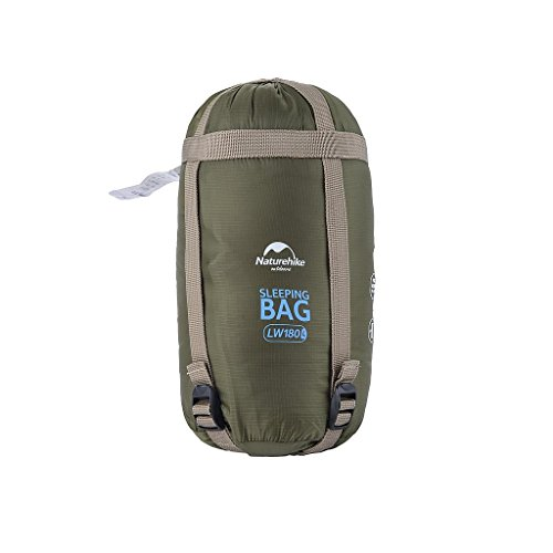 Cheap Naturehike Portable Outdoor Traveling Sleeping Bag Hiking Envelope Sleeping Bag Multifunctional Camping Sleeping Bag for Spring Summer Autumn (Left, Army Green)