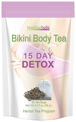 Bikini Body Detox Tea for Weight Loss – Best Slimming Tea on Amazon – Boosts Metabolism, Shrinks Love Handles and…