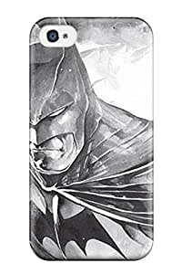 Faddish Phone Black And White Batman Case For Iphone 4/4s / Perfect Case Cover