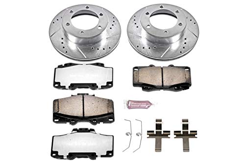 Power Stop K1233-36 Z36 Truck & Tow Front Brake Kit ()