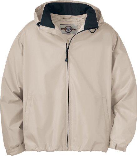 (North End Mens Techno Lite Jacket (88083) -PUTTY/BLACK -3XL)