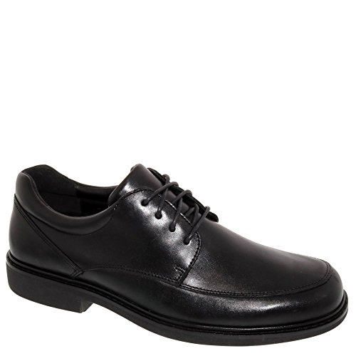 Shoe Depth Black Extra Shoe Diabetic Therapeutic Leather up Park lace Men's Drew RqF0B