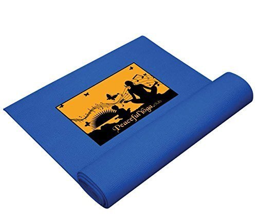 BLUE PRO Yoga and Pilates Mat